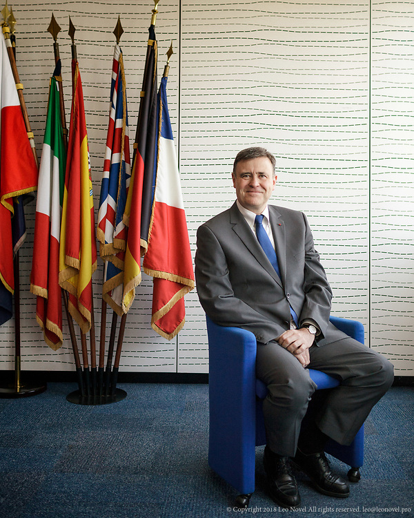 13  March  2017 &ndash; Paris, France<br /> Frank Bournois, Dean of the business school ESCP Europe, poses for portraits at his office building in Paris