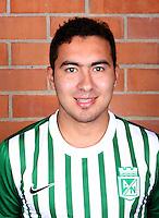 Colombia League - Postobom Liga 2014-2015 -<br /> Club Atletico Nacional Medellin - Colombia / <br /> Juan Pablo Niel
