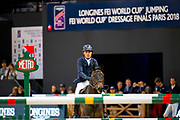Michel Robert - Undiams de Varenne<br /> FEI Longines FEI World Cup Paris 2018<br /> © DigiShots