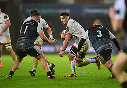 Marcell Coetzee of Ulster Rugby Guinness PRO14, Liberty Stadium, Swansea, UK 15/02/2020<br /> Ospreys vs Ulster Rugby<br /> <br /> Mandatory Credit ©INPHO/Alex James