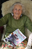 coromandel photographer felicity jean photography portrait of margaret jones aged 94 years