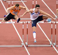 08-03-2015 CZE: European Athletics Indoor Championships, Prague<br /> Pieter Braun NED, Bastien Auzeil FRA