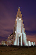 Hallgrimskirkja in Reykjavik, Iceland