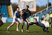 Greg Worthington (27) of Featherstone Rovers during the Betfred Championship match between Featherstone Rovers and Halifax RLFC at the Big Fellas Stadium, Featherstone, United Kingdom on 9 February 2020.