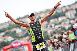 Fabian Bertoncello at Ironman 70.3 Slovenian Istra 2019, on September 22, 2019 in Koper / Capodistria, Slovenia. Photo by Matic Klansek Velej / Sportida