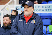 Coventry City Manager Russell Slade before the EFL Sky Bet League 1 match between Peterborough United and Coventry City at London Road, Peterborough, England on 31 December 2016. Photo by Nigel Cole.