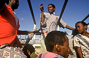 Travelling on the back of a truck to Tadjoura,  Republic of Djibouti