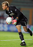 """Manninger Alexander (Siena)<br /> Italian """"Serie A"""" 2006-07<br /> 14 Oct 2006 (match day 6)<br /> Siena-Messina (3-1)<br /> """"A.Franchi"""" Stadium-Siena-Italy<br /> Photographer Luca Pagliaricci INSIDE"""