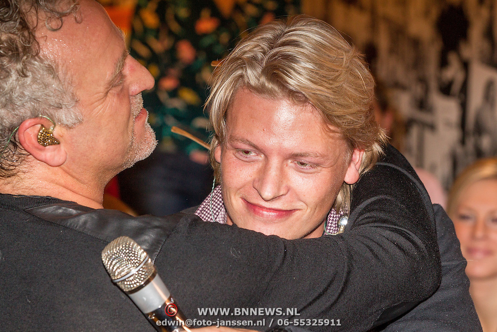 NLD/Blaricum/20161118 - Gordon presenteert nieuwe cd 'Gordon Compleet' , Gordon en Thomas Berge