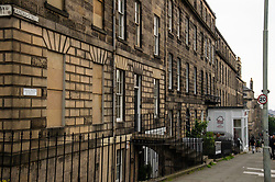 A number of streets in the New Town of Edinburgh have new street names apparently as part of the Black Lives Matter (BLM) protest.   It is not clear if the City of Edinburgh Council have been approached about the additional signs