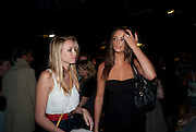 DANIELLE DWYER; LAUREN BUDD, Nokia and Daid Bailey celebrate London ' Alive at Night' to launch Nokia N86. the Old Dairy, 6 Wakefield st. London. WC1. 26 August 2009.