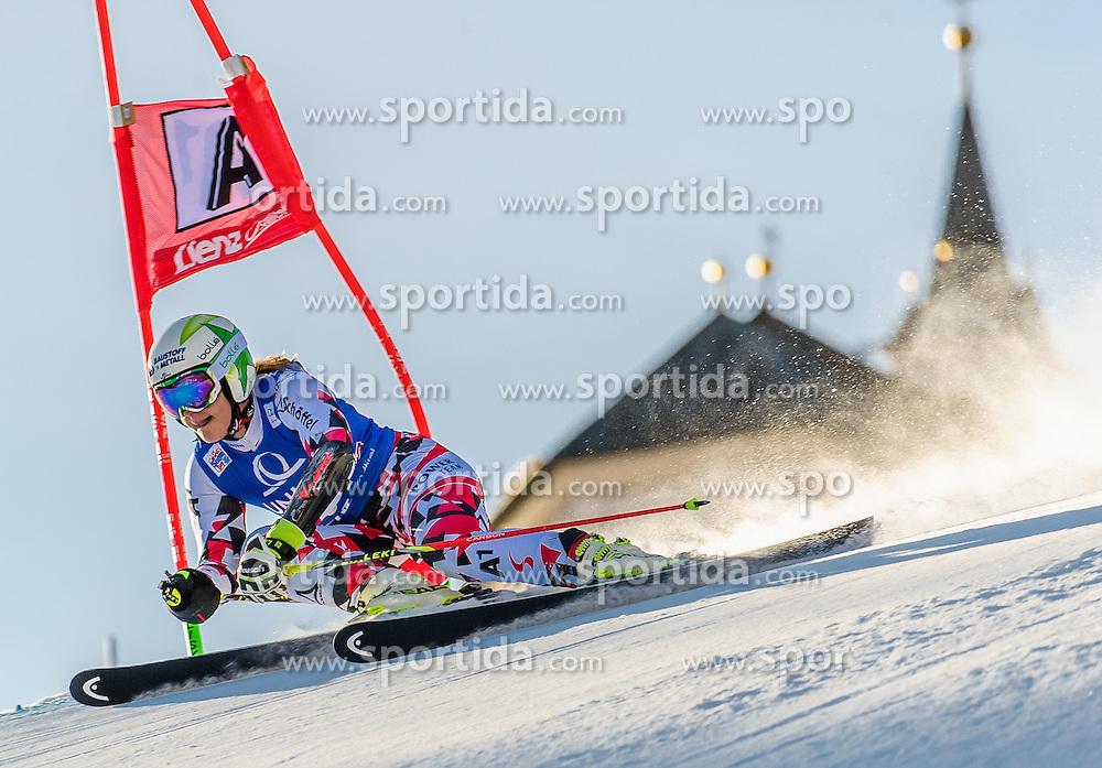 28.12.2015, Hochstein, Lienz, AUT, FIS Ski Weltcup, Lienz, Riesenslalom, Damen, 1. Durchgang, im Bild Ramona Siebenhofer (AUT) // Ramona Siebenhofer of Austria during 1st run of ladies Giant Slalom of the Lienz FIS Ski Alpine World Cup at the Hochstein in Lienz, Austria on 2015/12/28. EXPA Pictures © 2015, PhotoCredit: EXPA/ Michael Gruber