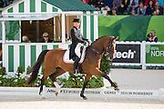 Lars Petersen - Mariett<br /> Alltech FEI World Equestrian Games™ 2014 - Normandy, France.<br /> © DigiShots