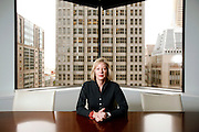 Janet Lamkin, the president of Bank of America in California, photographed at their offices in San Francisco, Calif., on Wednesday, November 20, 2013.