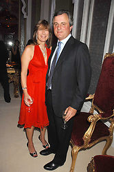 VISCOUNT & VISCOUNTESS ASTOR  at a party to celebrate the launch of the 'Inde Mysterieuse' jewellery collection held at Lancaster House, London SW1 on 19th September 2007.<br />
