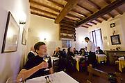 Parma. Trattoria del Tribunale.