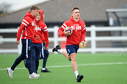 Bristol Bears Academy U18 players warm up ahead of kick-off - Mandatory by-line: Nizaam Jones/JMP- 05/01/2019 - RUGBY - North Bristol RFC - Bristol, England - Bristol Academy U18 v Exeter Chiefs U18-U18 Academy League