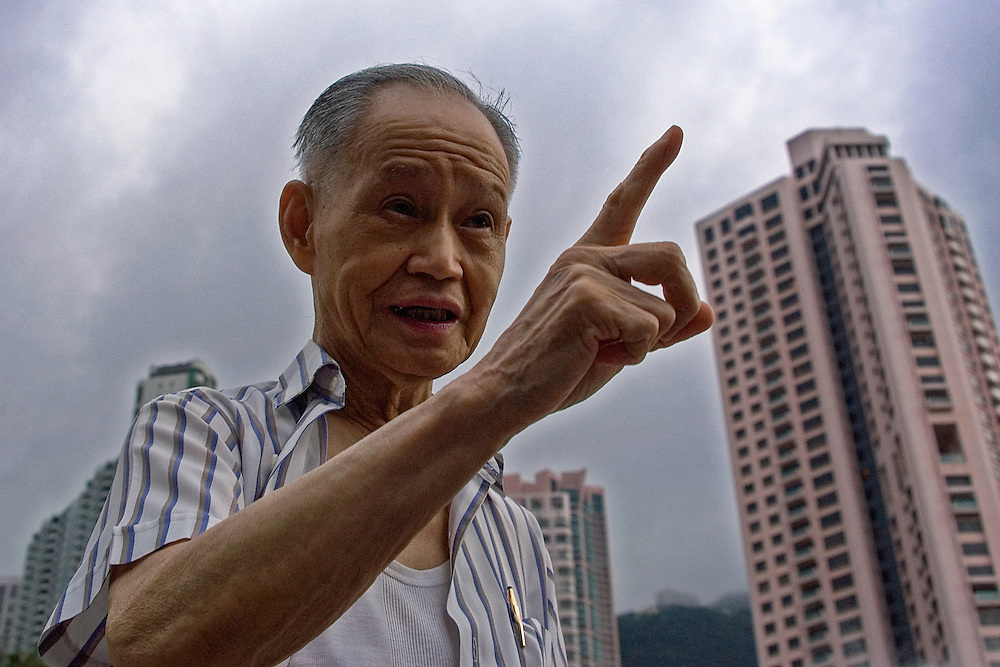 "A wise old man in Hong Kong states, ""The two most important things are freedom and democracy""."