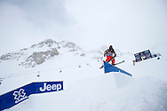 James Woods during Slopestyle Practice at the 2013 X Games Tignes in Tignes, France. ©Brett Wilhelm/ESPN