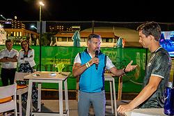 Aljaz Bedene of Slovenia in VIP during ATP Challenger Zavarovalnica Sava Slovenia Open 2019, day 6, on August 14, 2019 in Sports centre, Portoroz/Portorose, Slovenia. Photo by Vid Ponikvar / Sportida