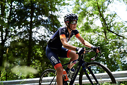 Sofia Bertizzolo (ITA) on the longest climb of the day during Stage 8 of 2019 Giro Rosa Iccrea, a 133.3 km road race from Vittorio Veneto to Maniago, Italy on July 12, 2019. Photo by Sean Robinson/velofocus.com