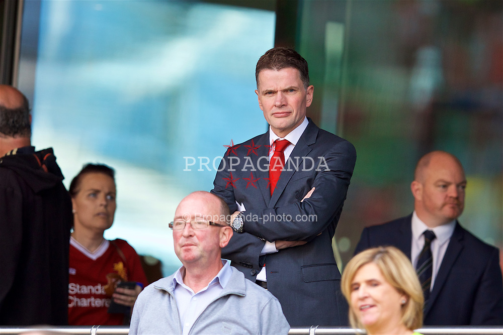 DUBLIN, REPUBLIC OF IRELAND - Saturday, August 5, 2017: Liverpool's operations director Andrew Parkinson before a preseason friendly match between Athletic Club Bilbao and Liverpool at the Aviva Stadium. (Pic by David Rawcliffe/Propaganda)
