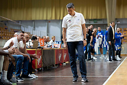 Zoran Martic, head coack of KK Petrol Olimpija Ljubljana during basketball match between KK Petrol Olimpija and KK Sixt Primorska at Superpokal 2018, on September 24, 2018 in Hala Tivoli, Ljubljana, Slovenia. Photo by Urban Urbanc / Sportida