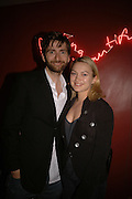 David Tennant and Sophia Myles, First night party after the opening of Rabbit by Nina Raine at the Old Red Lion Theatre, Islington. Groucho Club. 18 June 2006. ONE TIME USE ONLY - DO NOT ARCHIVE  © Copyright Photograph by Dafydd Jones 66 Stockwell Park Rd. London SW9 0DA Tel 020 7733 0108 www.dafjones.com