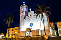 Mother Church of Campos Novos. Campo Novos, Santa Catarina, Brazil. / <br /> Igreja Matriz de Campos Novos, Paróquia São João Batista. Campos Novos, Santa Catarina, Brasil.