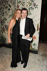 Champion Jockey Tony McCoy and his wife Chantelle at the 20th annual Cartier Racing Awards - the most prestigious award ceremony within European horseracing, held at The Dorchester Hotel, Park Lane, London on 16th November 2010.