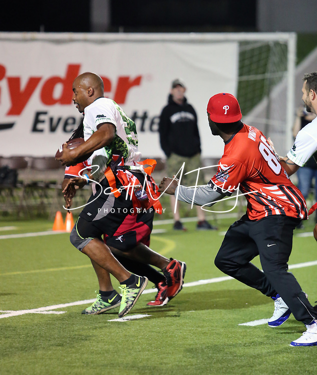 The Wounded Warrior Amputee Football Team - Super Bowl 51 Tribute; A Game of Honor, Tribute to Heroes; Wounded Warrior Amputee Football Team vs. NFL Alumni of Texas, Delmar Stadium, Houston, TX, 1 Feb 2017 ...WWAFT easily defeats the NFL Alumni of Texas with a Final score of 42-14.