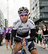 Julian Dean, Team Garmin-Chipotle, New Zealand national road race champion, ..Tour of Ireland Stage 1, Grand Canal Square, Dublin 2. Dean went on to take 2nd place in this stage, into Waterford.
