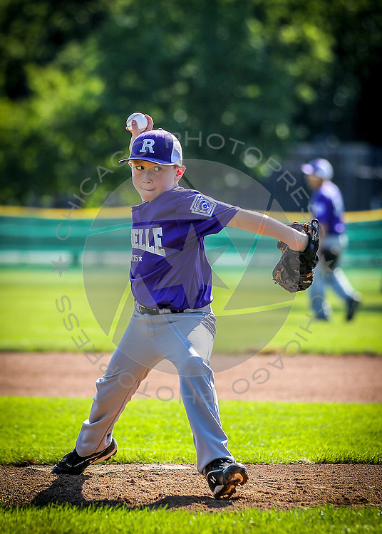 Hinsdale vs. Rochelle in the 9-11 Illinois State Little League Baseball Championship at Keystone Park in River Forest, Ill. Saturday, Aug. 1, 2015.