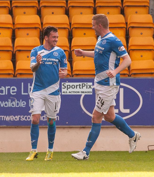 #11 Danny Swanson (St Johnstone) celebrates - St Johnstone v Dundee - Ladbrokes Premiership - 23 October 2016 - © Russel Hutcheson | SportPix.org.uk
