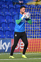 Football - 2019 / 2020 pre-season friendly - AFC Wimbledon vs. Crystal Palace<br /> <br /> Crystal Palace's Stephen Henderson during the pre-match warm-up, at Kingsmeadow Stadium.<br /> <br /> COLORSPORT/ASHLEY WESTERN