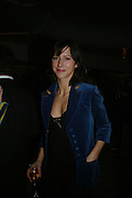 Sophie Hunter, Party hosted by Larry Gagosian at Nobu, Berkeley St. London. 9 October 2007. -DO NOT ARCHIVE-© Copyright Photograph by Dafydd Jones. 248 Clapham Rd. London SW9 0PZ. Tel 0207 820 0771. www.dafjones.com.