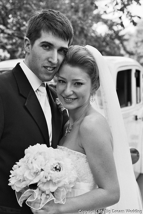 Anna and Justin portrait Wedding photo