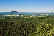 Brand,-Aussicht, Elbsandsteingebirge, Sächsische Schweiz, Sachsen, Deutschland.|.Brand viewpoint, Saxon Switzerland, Saxony, Germany