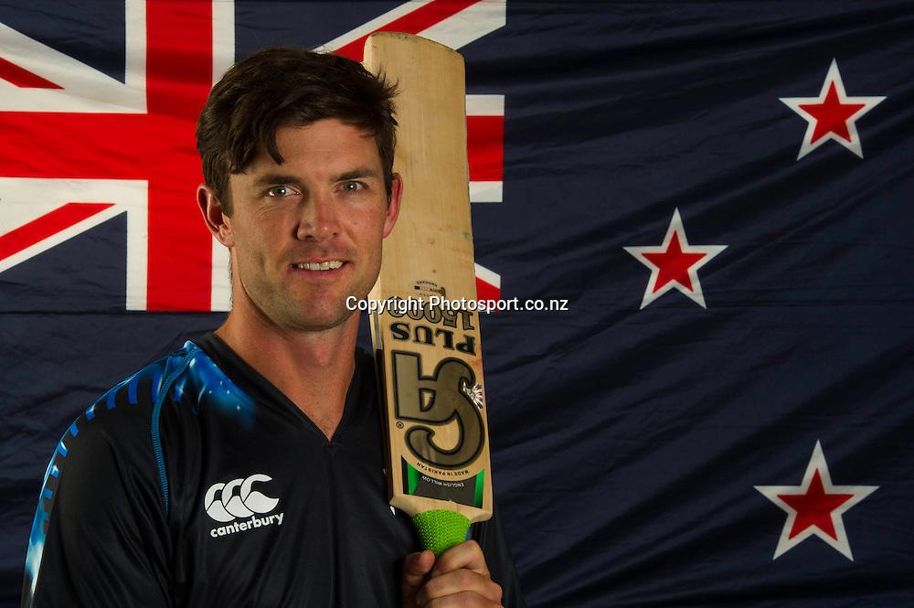 James Franklin, New Zealand Black Caps photoshoot and portrait / headshots session. International Cricket. 17 December 2012. Photo: Photosport.co.nz