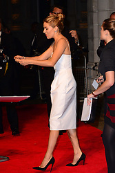 Sienna Miller arriving at the British Film Institute's  Luminous Gala in London,  Tuesday, 8th October 2013. Picture by Nils Jorgensen / i-Images<br />