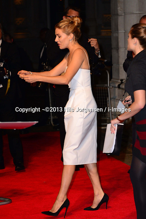 Sienna Miller arriving at the British Film Institute's  Luminous Gala in London,  Tuesday, 8th October 2013. Picture by Nils Jorgensen / i-Images<br /> File photo - Jude Law NOTW Hacking.<br /> Jude Law is told relative sold story of girlfriend Sienna Miller's affair with Daniel Craig. Picture filed Tuesday, 28th January 2014.