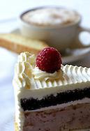 Raspberry Marzipan torte