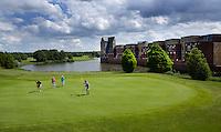 's Hertogenbosch - Hole 15 van Golfbaan Haverleij. COPYRIGHT KOEN SUYK