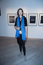 CECILIA CHANCELLOR at a private view of Masters of Photography - A Journey presented by Macallan and Albert Watson held at Philips De Pury, Howick Place, London SW1 on 1st December 2010.