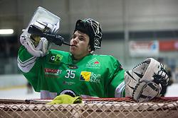 Pierre Svensson of EHC Bregenzerwald during 5th game of final INL league ice hockey match between HK Playboy Slavija and EHC Bregenwald at Dvorana Zalog, on April 3, 2013, in Ljubljana, Slovenia. (Photo by Matic Klansek Velej / Sportida)