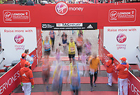 The Finish line of The Virgin Money London Marathon, 23rd April 2017.<br /> <br /> Photo: Thomas Lovelock for Virgin Money London Marathon<br /> <br /> For further information: media@londonmarathonevents.co.uk