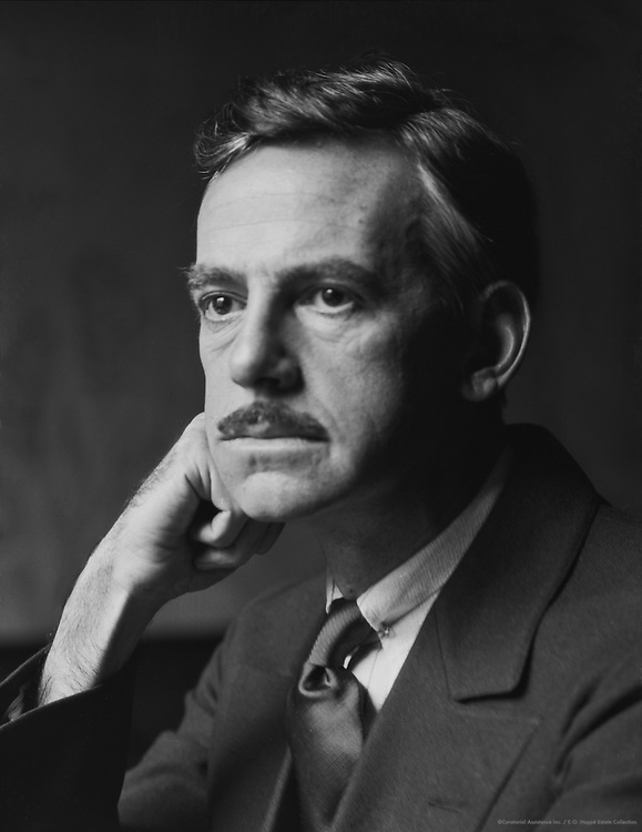 Eugene O'Neil, American Playwright, 1926