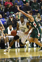 17 December 2011: Eric Dortch  during an NCAA mens division 3 basketball game between the Washington University Bears and the Illinois Wesleyan Titans in Shirk Center, Bloomington IL