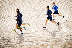 March 16, 2018 - Torrevieja, SPAIN - Gent's Noe Dussenne, Gent's Mamadou Sylla, Gent's Franko Andrijasevic and Gent's Thomas Foket pictured during the fourth day of the training camp of Belgian first division soccer team KAA Gent, in Torrevieja, Spain, Friday 16 March 2018. The team is preparing for the Play-off 1 of the Belgian soccer championship. BELGA PHOTO JASPER JACOBS (Credit Image: © Jasper Jacobs/Belga via ZUMA Press)