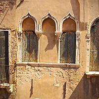 Italian building with arabic windows
